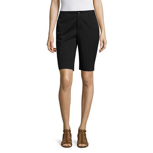 "Liz Claiborne® 10.5"" Bermuda Shorts"