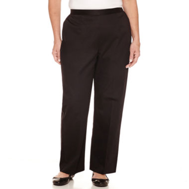 jcpenney.com | Alfred Dunner Woven Pull-On Pants-Plus