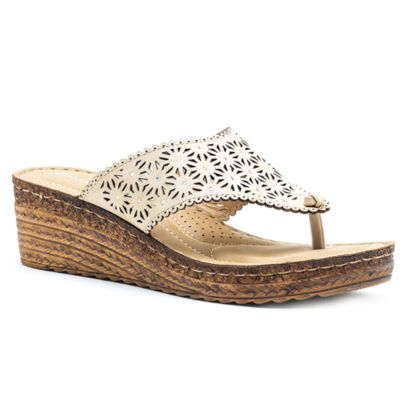 7f36509f5a6 GC Shoes Noleen Womens Wedge Sandals JCPenney