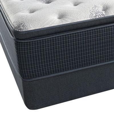 Simmons Beautyrest Silver Snowhaven Pillowtop Plush Mattress Box