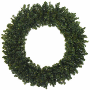 "jcpenney.com | 48"" Unlit Canadian Pine Artificial Christmas Wreath"