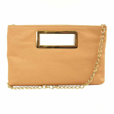 jcpenney.com | Imoshion Cut-Out Rectangle Handle Clutch