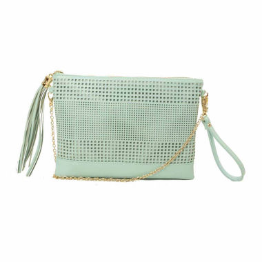 jcpenney.com | Imoshion Dottie Perforated Pouch With Tassel Clutch