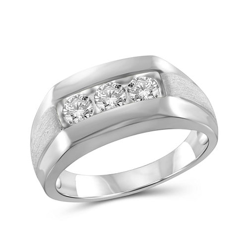 Mens 1 CT. T.W. Round White Diamond 10K