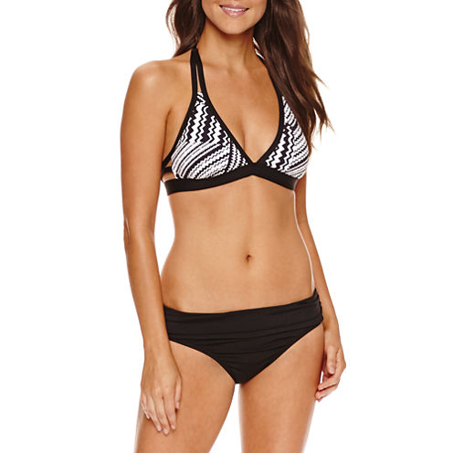 a.n.a Solid Halter Swimsuit Top
