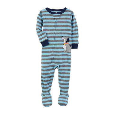 jcpenney.com | Carter'S Boys 1Pc Navy Dog Stripe Pajama-Toddler