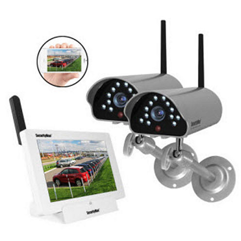 Securityman App Based Wireless With 2 Cameras Security System