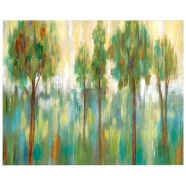 jcpenney.com | Green Trees II Canvas Wall Art