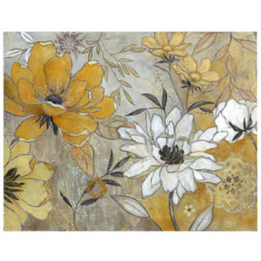 jcpenney.com | Glistening Petals Canvas Wall Art
