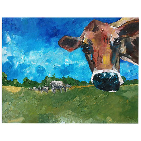 What Are You Looking At? Canvas Wall Art