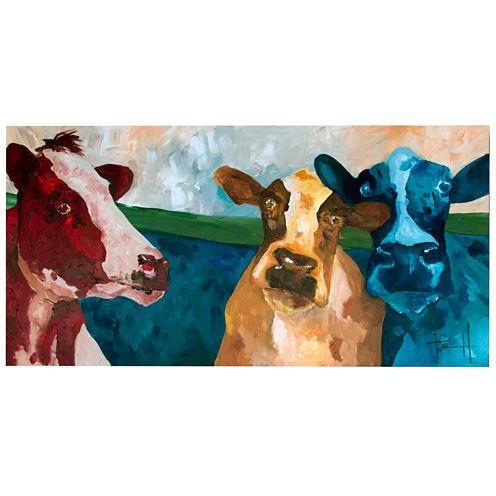 Field Friends Canvas Wall Art