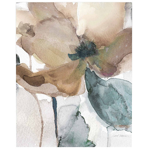 Watercolor Flower Bloom I Canvas Wall Art
