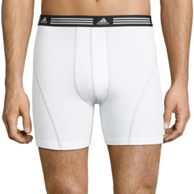 3be2cd894 adidas® 2-pk. Athletic Stretch climalite® Boxer Briefs