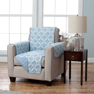 Adalyn Collection Deluxe Reversible Quilted Chair Protector