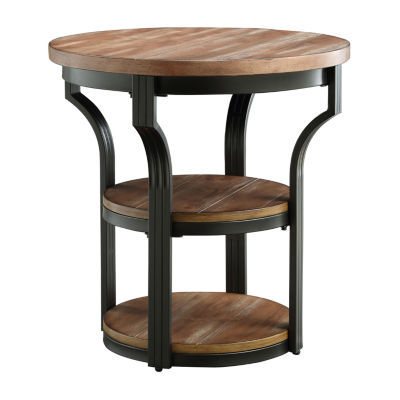 monarch specialties end table in black anybyt