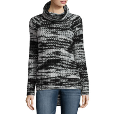 jcpenney.com | a.n.a Long Sleeve Turtleneck Pullover Sweater-Talls