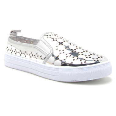 jcpenney.com | Qupid Reba Metallic Womens Sneakers