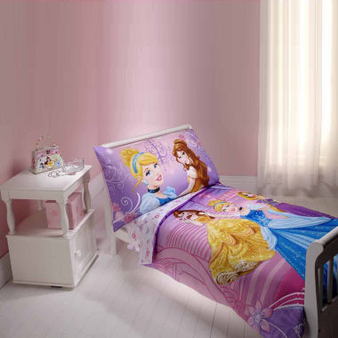 jcpenney.com | Disney Princess Dress To Shine 4 Piece Toddler Bedding Set