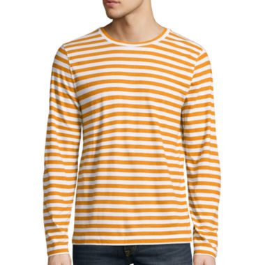 jcpenney.com | Arizona Long Sleeve Stripe Crew Neck T-Shirt
