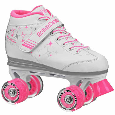 jcpenney.com | Roller Derby Sparkle Lighted Wheel Roller Skates - Girls