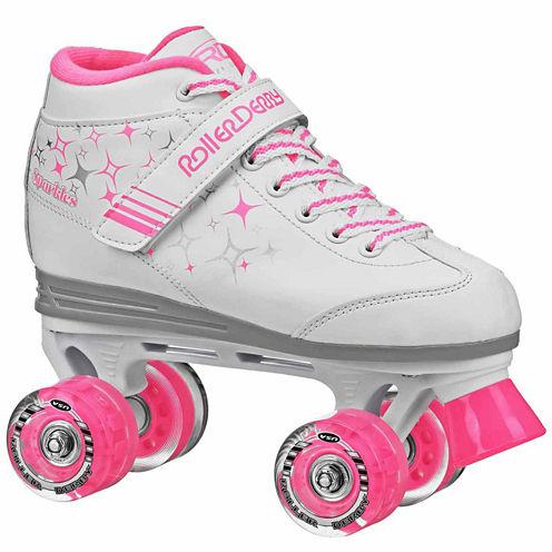 Roller Derby Sparkle Lighted Wheel Roller Skates - Girls