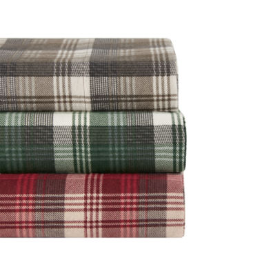 jcpenney.com | Woolrich Tasha Flannel Flannel Easy Care Sheet Set