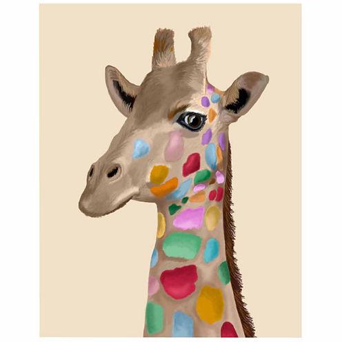 Giraffe Canvas Wall Art