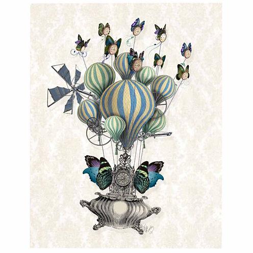 Flutter Time Canvas Wall Art