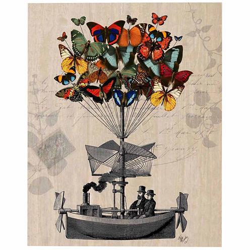Butterfly adventures Canvas Wall Art