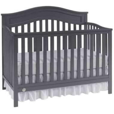 jcpenney.com | Fisher Price Aubree Convertilbe Crib Grey