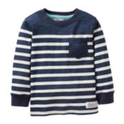 Carter's® Long-Sleeve Navy Jersey Tee - Boys 5-7