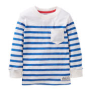 Carter's® Long-Sleeve Striped Tee - Boys 5-7