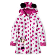 Disney Pink Minnie Mouse Rain Jacket - Girls 2-10