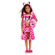 Disney Pink Minnie Mouse Swimwear and Accessories - Girls 2-10