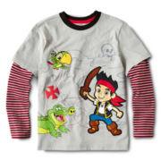 Disney Jake Layered Shirt - Boys 2-10