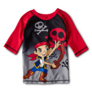 Disney Jake Rashguard - Boys 2-10