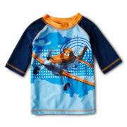 Disney Planes Rashguard - Boys 2-10