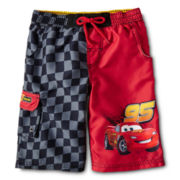 Disney Cars Swim Trunks - Boys 2-10