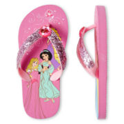 Disney Princesses Flip Flops - Girls