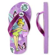 Disney Tinker Bell Flip Flops - Girls