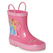 Disney Collection Princesses Girls Rain Boots