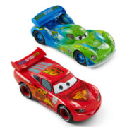 Disney Collection Cars Lightning McQueen and Carla Veloso Toy Cars