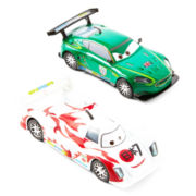 Disney Cars Nigel Gearsly and Shu Todoroki Toy Cars