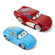 Disney Cars Lightning McQueen and Sally Carrera Toy Cars