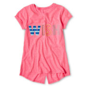 Arizona Embellished Word Tee - Girls 6-16