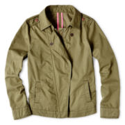 Arizona Twill Motorcycle Jacket - Girls 6-16 and Plus