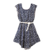by&by Girl Floral-Print Dress - Girls 7-16