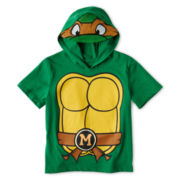 Teenage Mutant Ninja Turtles Hooded Graphic Tee - Boys 2t-5t