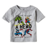 Marvel® How To Be A Hero Graphic Tee - Boys 2t-5t