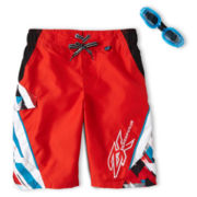 Zero Xposur® Breaker Swim Trunks - Boys 6-18